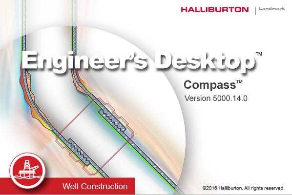 Halliburton Landmark Engineer's Desktop (EDT) 5000.14.0.