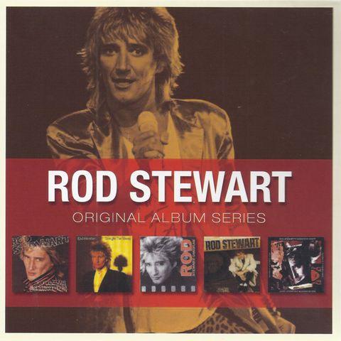 Rod Stewart - Original Album Series (1980-1991) [5CD Box Set] (2010) FLAC