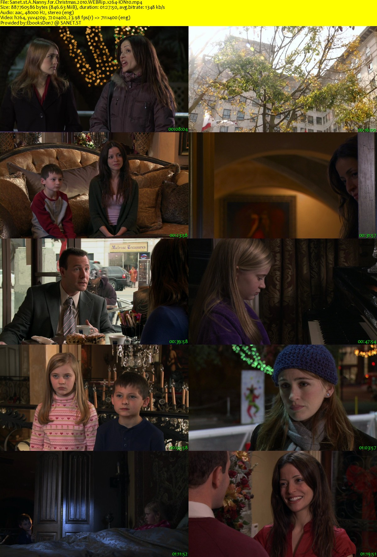 A Nanny For Christmas.Download A Nanny For Christmas 2010 Webrip X264 Ion10