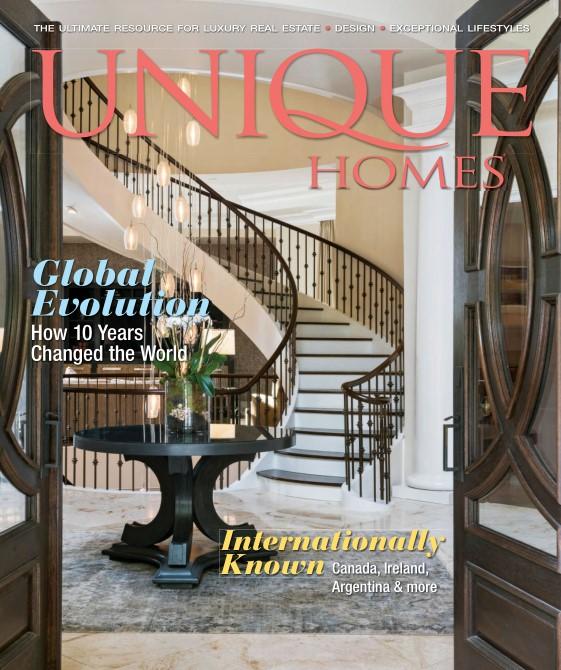 Unique Homes Magazine   Global 2018