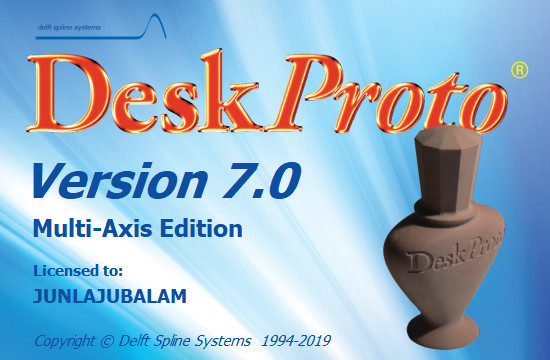 DeskProto 7.0 Revision 8267 Multi-Axis Edition