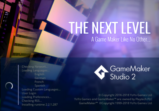 GameMaker Studio 2.2.1.375 (x64)