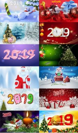 "New year wallpapers 2019 в""–2."