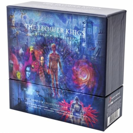 The Flower Kings - A Kingdom Of Colours: The Complete Collection From 1995 To 2002 (10CD Box Set) - 2017, FLAC