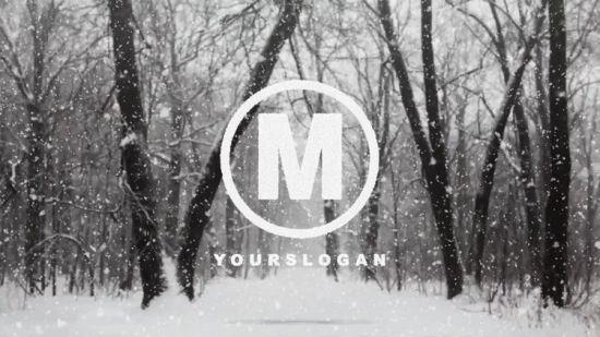 MotionArray - Snow Logo - 141583