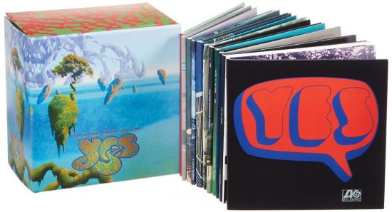 Yes - The Studio Albums 1969-1987 (Box Set 13CD, 2013) FLAC