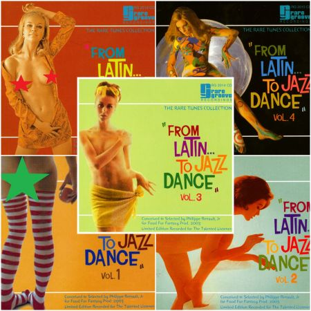 VA - From Latin to Jazz Dance. Volume 1-5 (2003) FLAC