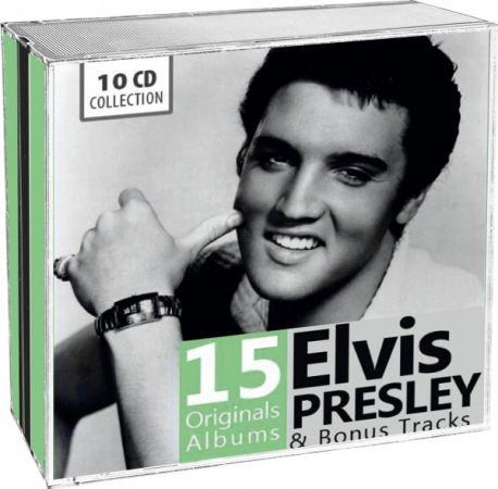 Elvis Presley - 15 Original Albums & Bonus Tracks - 2014, FLAC