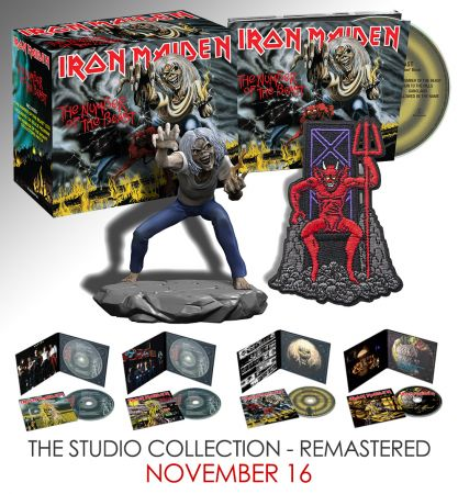 Iron Maiden - The Studio Collection (Box Set 4 CD, 1980-1983, Remastered 2015) - 2018, FLAC
