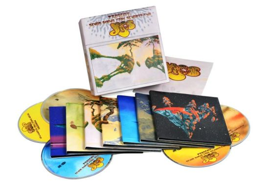 Yes - Progeny: Seven Shows from Seventy-Two 14CD (2015) [Box Set] FLAC