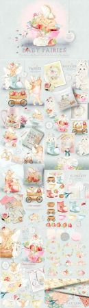 Baby Fairies Clipart Collection 2770171.
