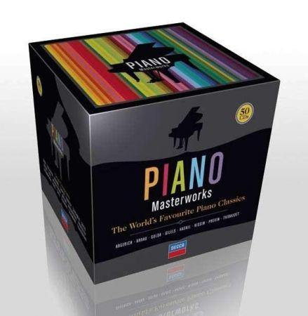 VA - Piano Masterworks - (50CD, Decca, 2008) MP3