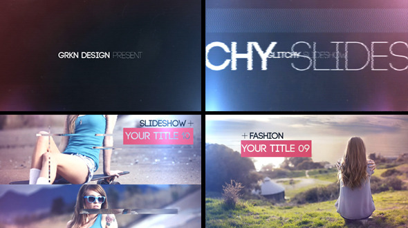 Videohive Glitch - Slideshow 7900219.