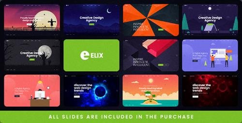 ThemeForest - Elix - A Super PSD Template for Designers, Artists and Agencies (Update: 4 January ...