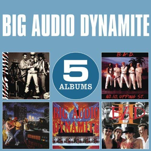 Big Audio Dynamite - Original Album Classics (2013)
