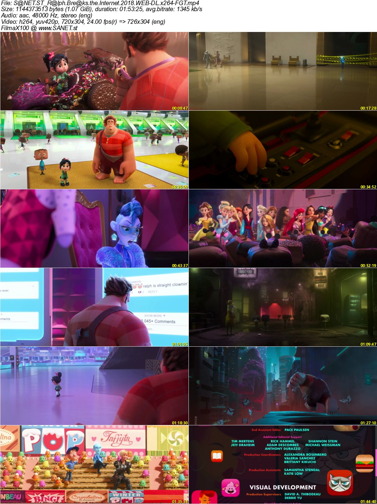 Download Ralph Breaks The Internet 2018 Web Dl X264 Fgt Softarchive