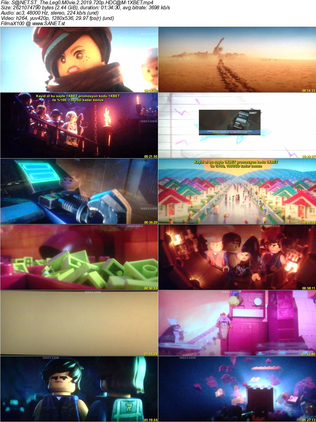 Download The Lego Movie 2 2019 720p HDCAM-1XBET - SoftArchive