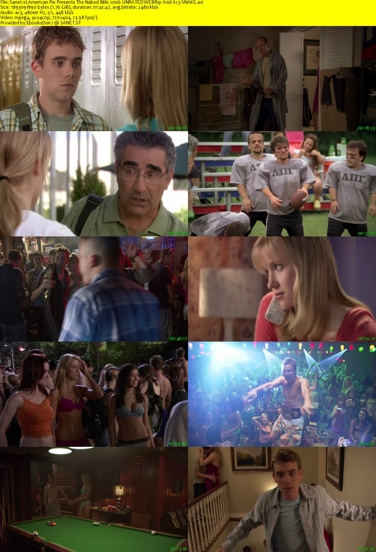American Pie Naked download american pie presents the naked mile 2006 unrated