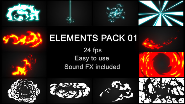 Download Videohive Flash FX Elements Pack 01 23211134 - SoftArchive