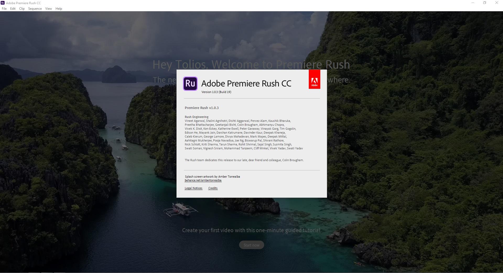 Adobe Premiere Rush CC (v1.0.3) Multilingüe