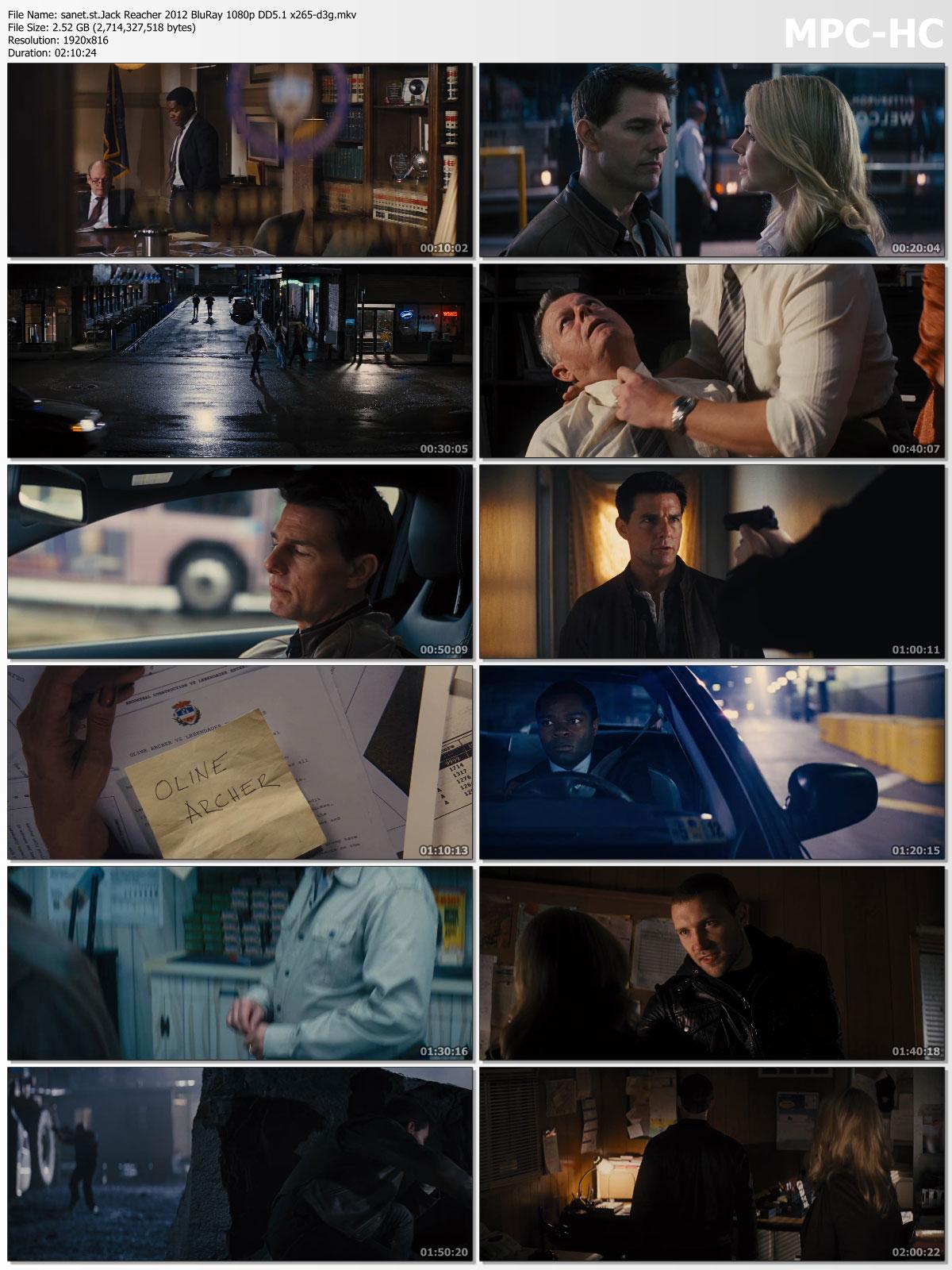 Download Jack Reacher 2012 BluRay 1080p DD5 1 x265-d3g - SoftArchive