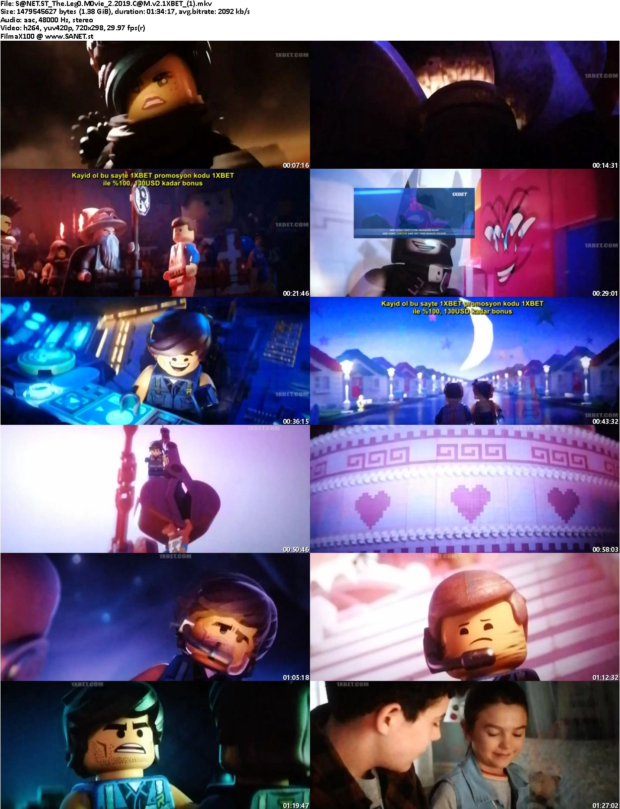 Download The Lego Movie 2 2019 HDCAM v2-1XBET - SoftArchive