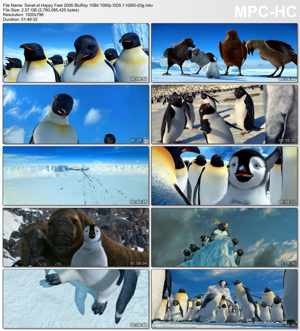 Download Happy Feet 2006 Bluray 10bit 1080p Dd5 1 H265 D3g Softarchive