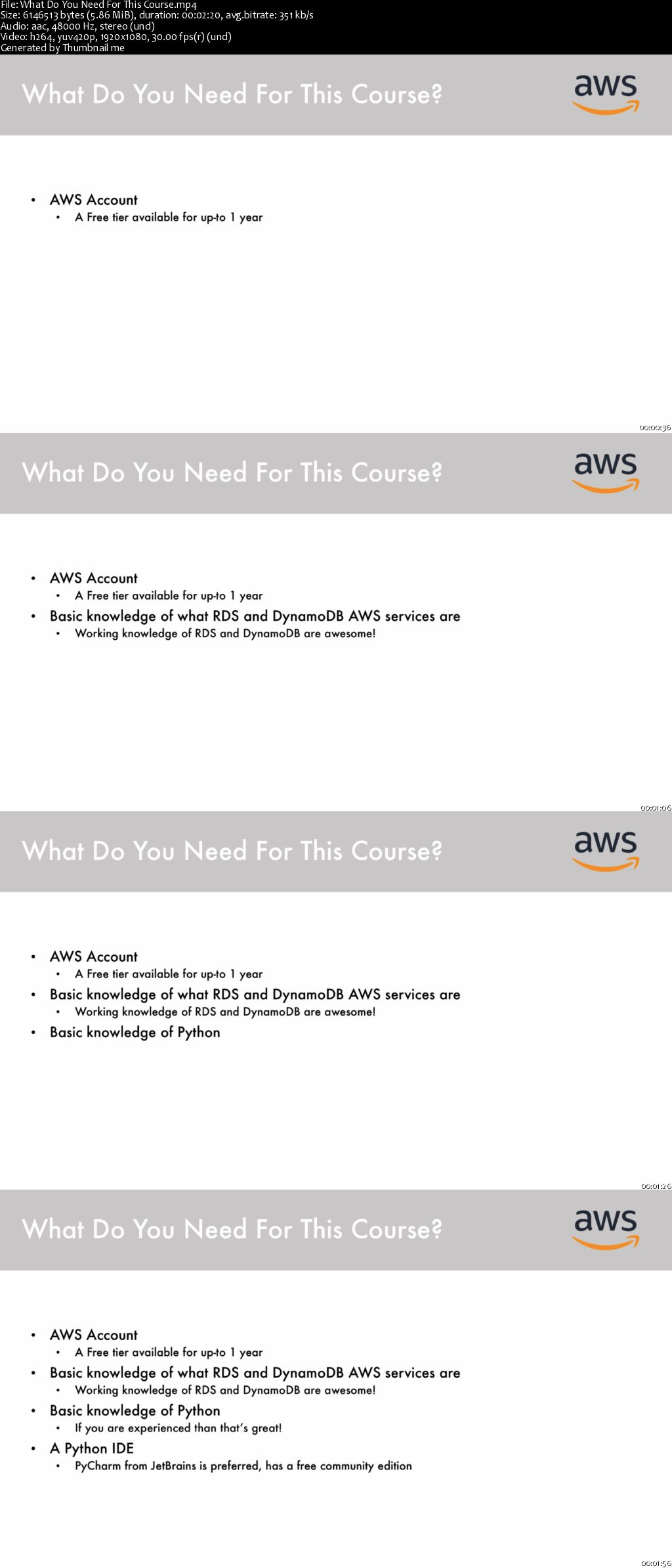 Download Work with RDS and DynamoDB: AWS with Python and Boto3