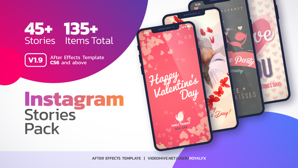 Videohive Instagram Stories v1.7 22331306