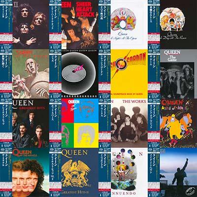 Queen – 16 Japanese SHM-SACD Albums (1974-1995) (Hi-Res 24/88)