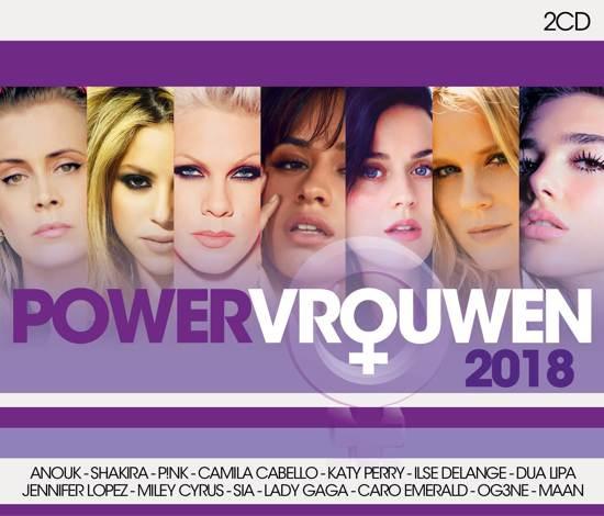 Various - Powervrouwen 2018 (2CD, 2018) MP3
