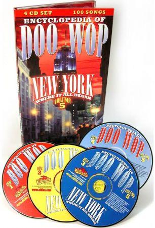VA - The Encyclopedia Of Doo Wop Vol.5: Box Set 4CDs (2005)