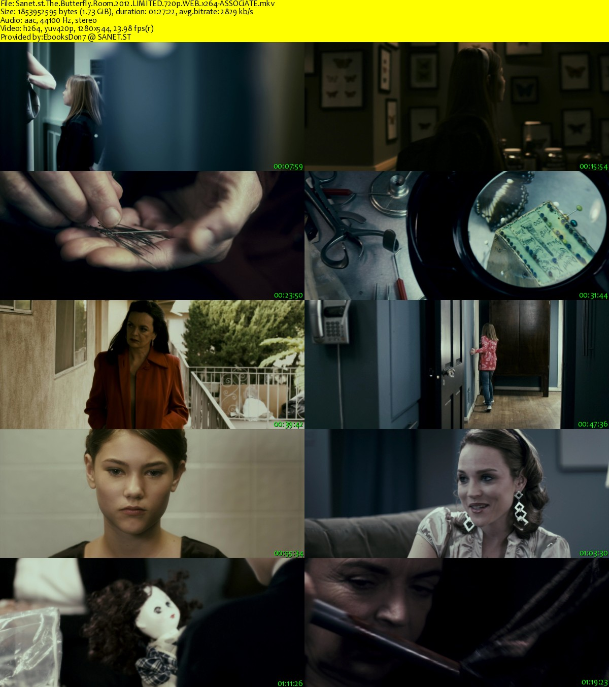 Download The Butterfly Room 2012 LIMITED 720p WEB x264