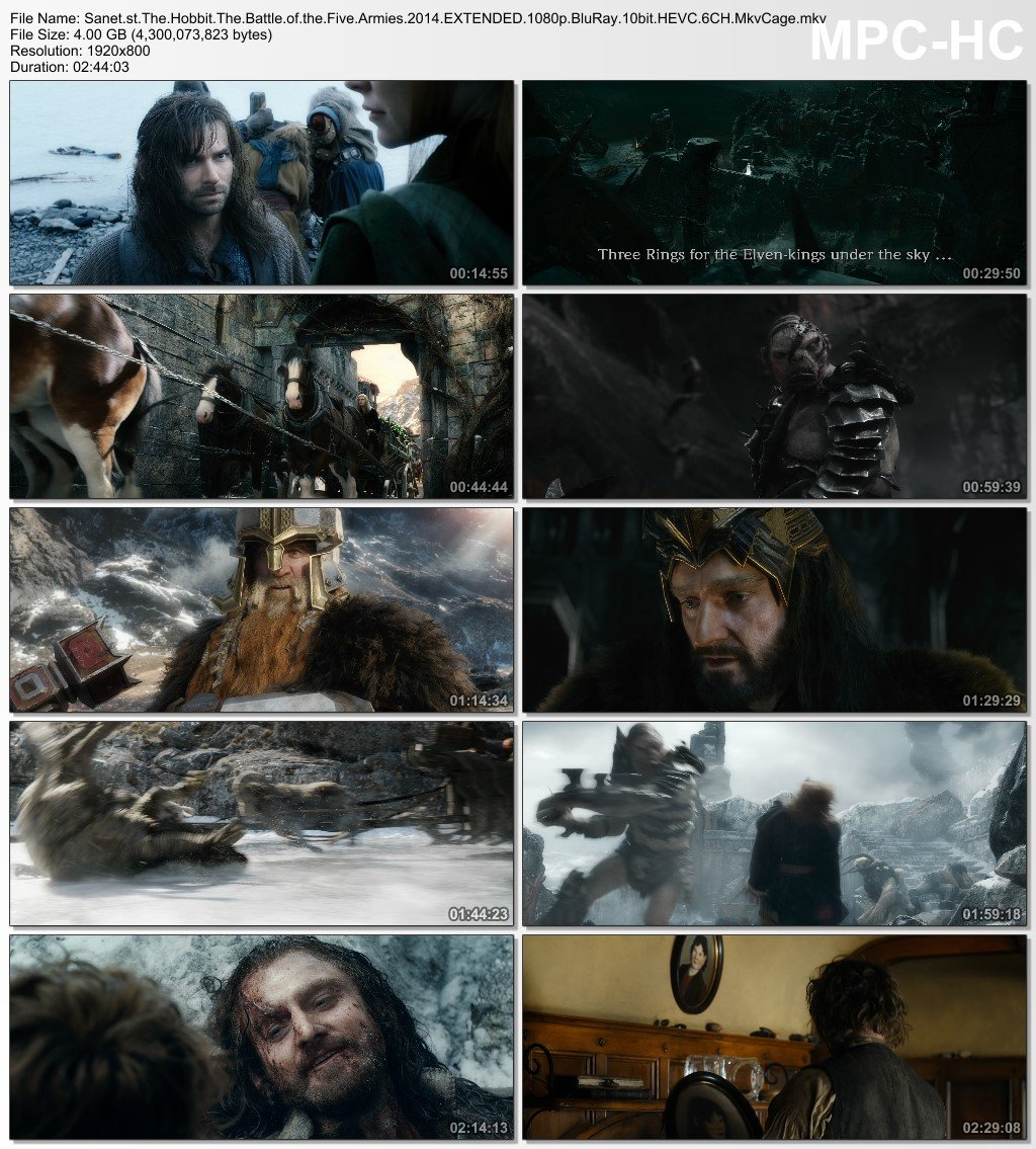 hobbit the battle of the five armies download 1080p