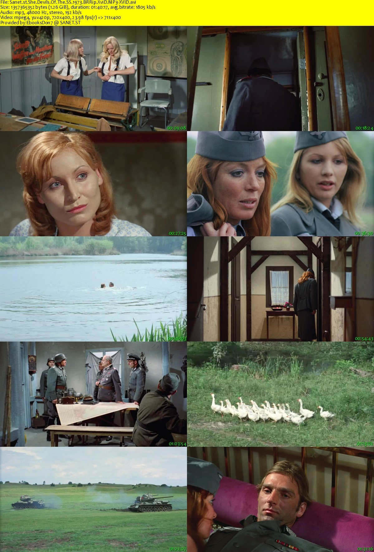 Download She Devils Of The SS 1973 BRRip XviD MP3-XVID - SoftArchive