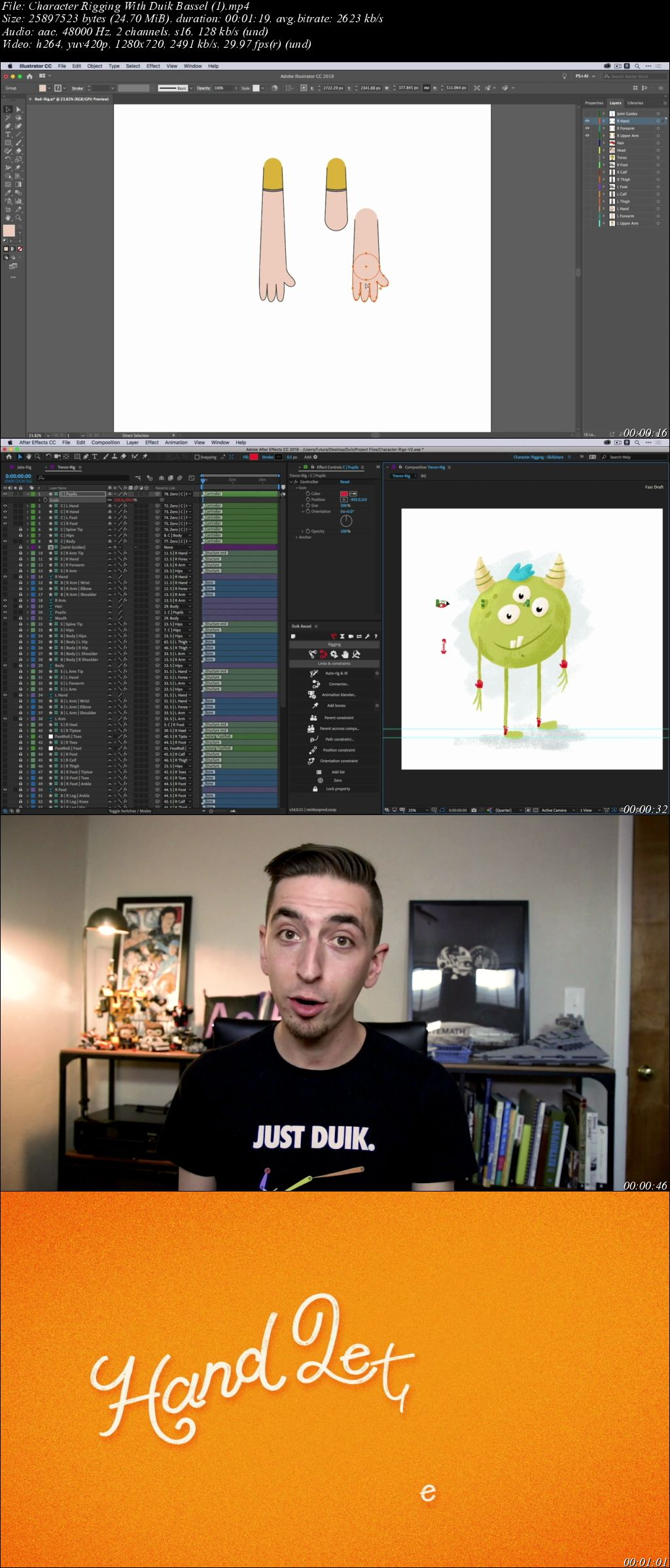 Download Character Rigging With Duik Bassel - SoftArchive