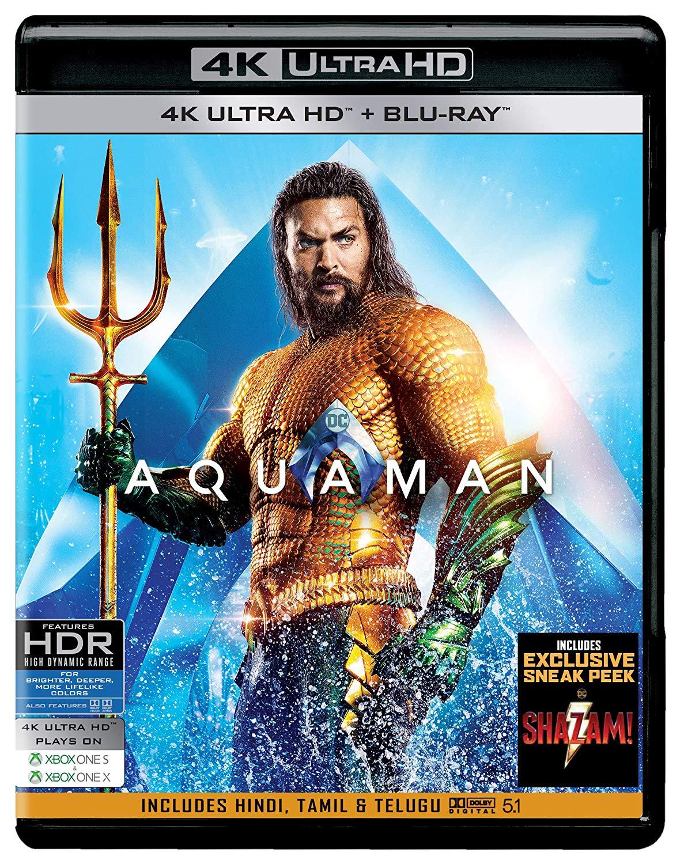 Aquaman Bluray