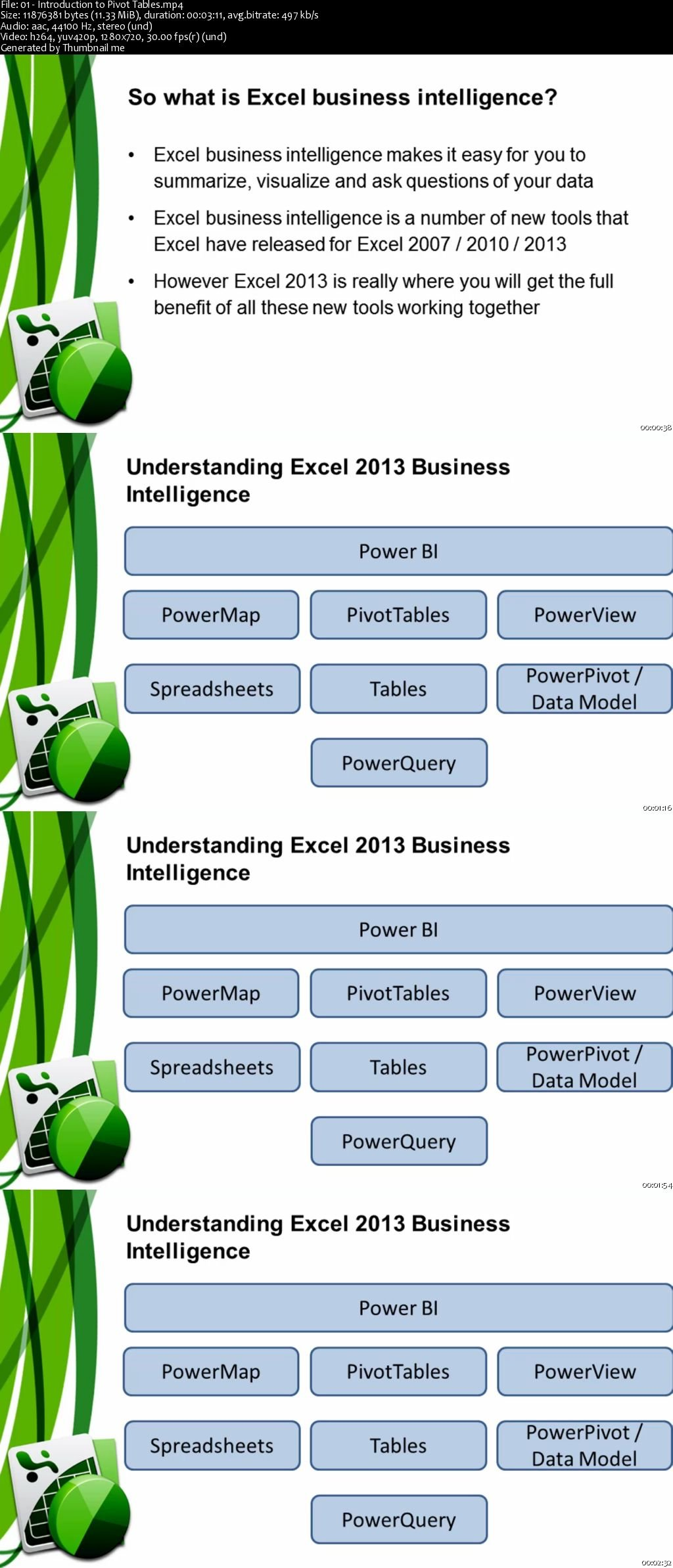 Download Reports and Data Analysis with Excel Pivot Tables