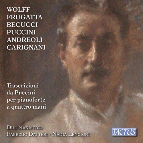 Fabrizio Datteri - Transcriptions of Puccini for Piano 4 Hands (2019) FLAC