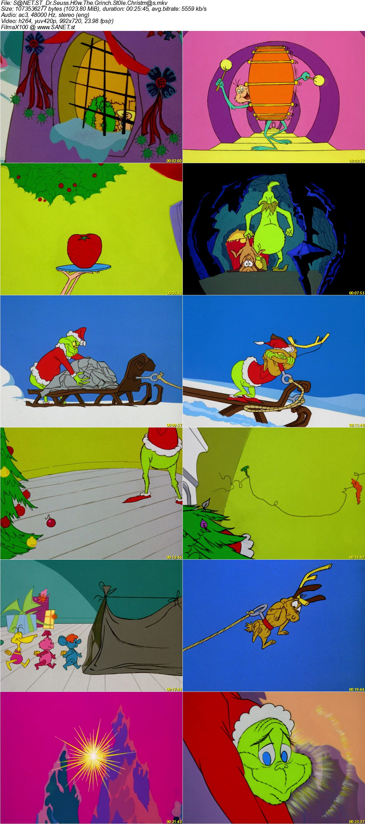 How The Grinch Stole Christmas 1966.Download Dr Seuss How The Grinch Stole Christmas 1966 720p