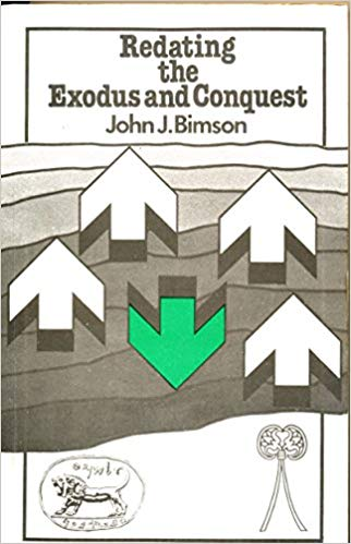 Redating the exodus and conquest john j bimson comic