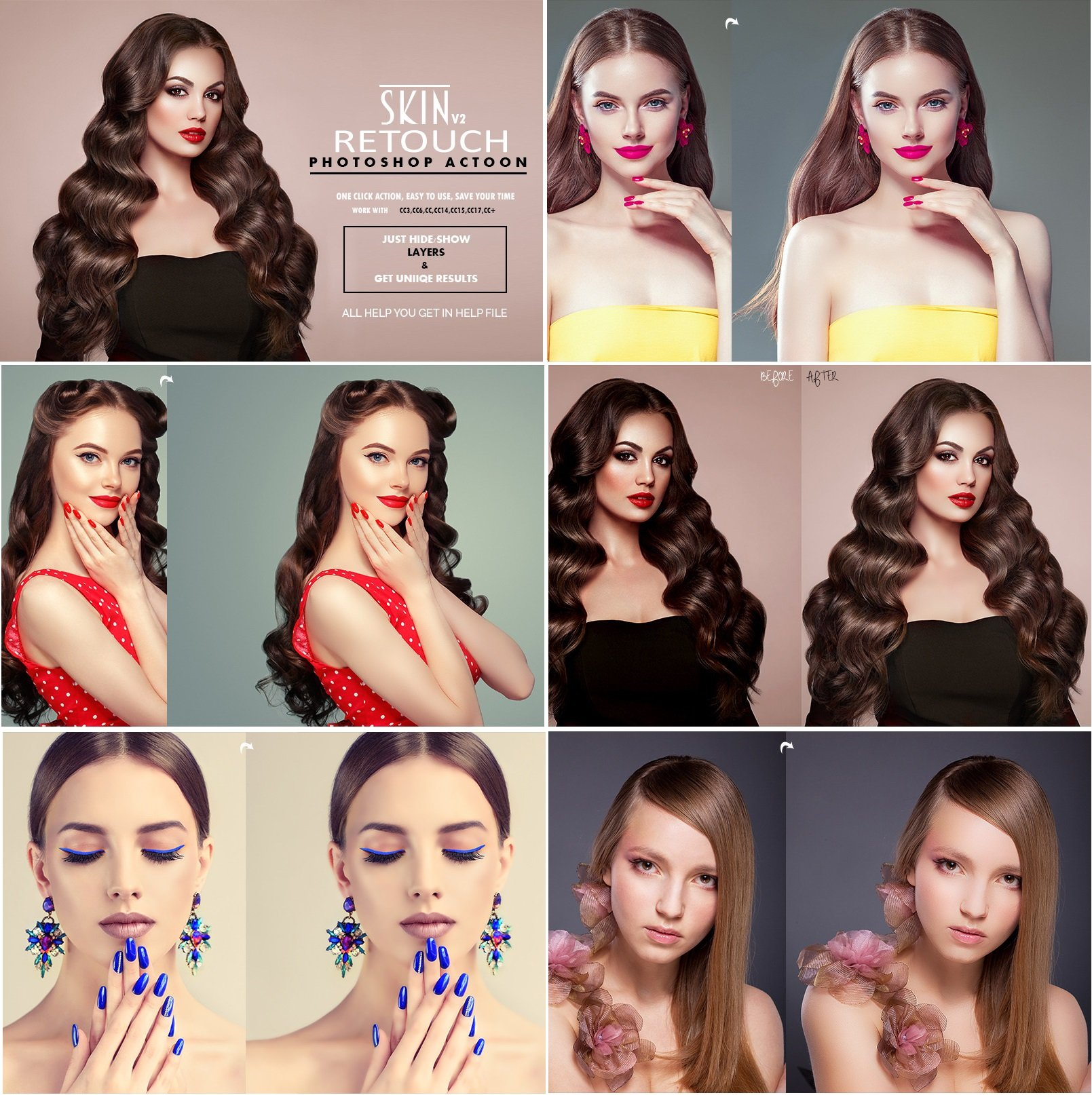 Download Skin Retouch v2 Photoshop Actions 3531363 - SoftArchive