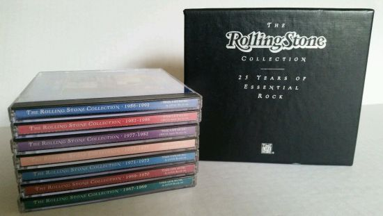 VA   The Rolling Stone Collection   25 Years Of Essential Rock [7CD Box Set] (1993) MP3 320 Kbps
