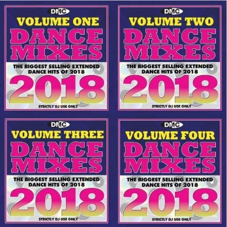 VA - DMC Dance Mixes 2018 Volumes 1-4 (4CD, 2019) MP3