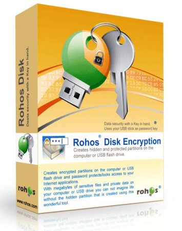 Rohos Disk Encryption 2.5 Multilingual
