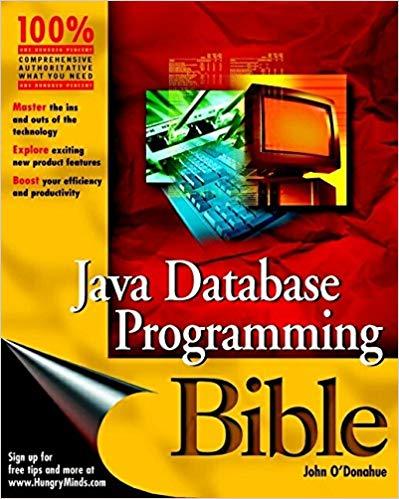 Download Java Database Programming Bible - SoftArchive