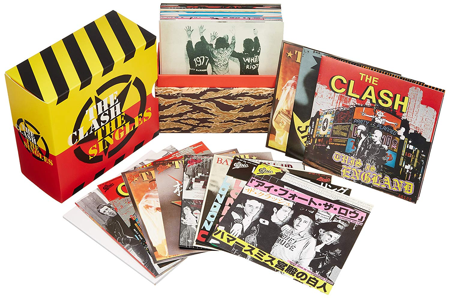 Download The Clash The Singles Box Set 19 Cd 2006