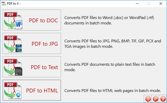TriSun PDF to X 11.0.055