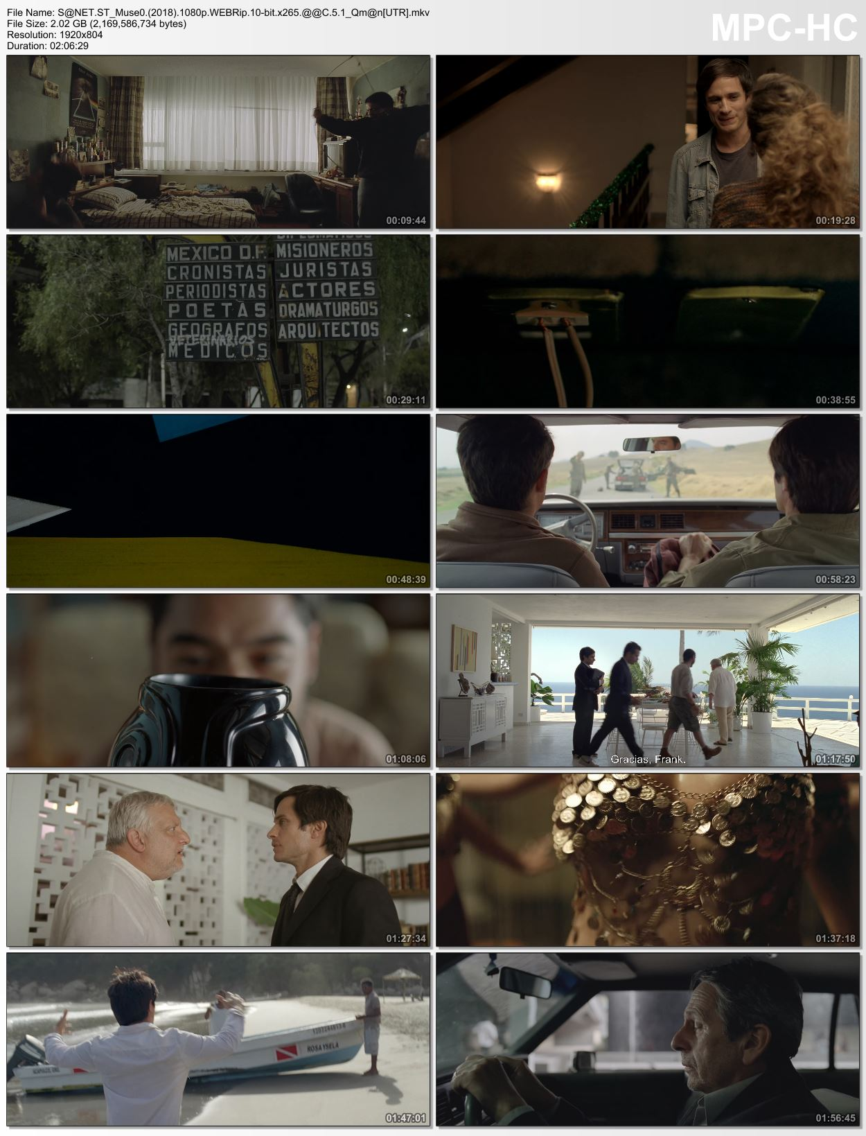 Download Museo 2018 1080p WEBRip 10-bit x265 HEVC AAC 5 1 Qman [UTR