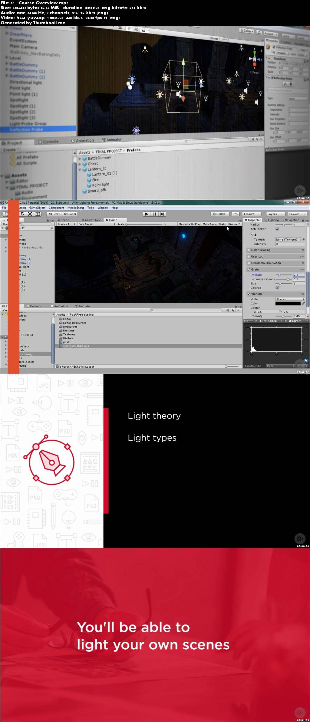 Download Unity Lighting Fundamentals Video Training - SoftArchive